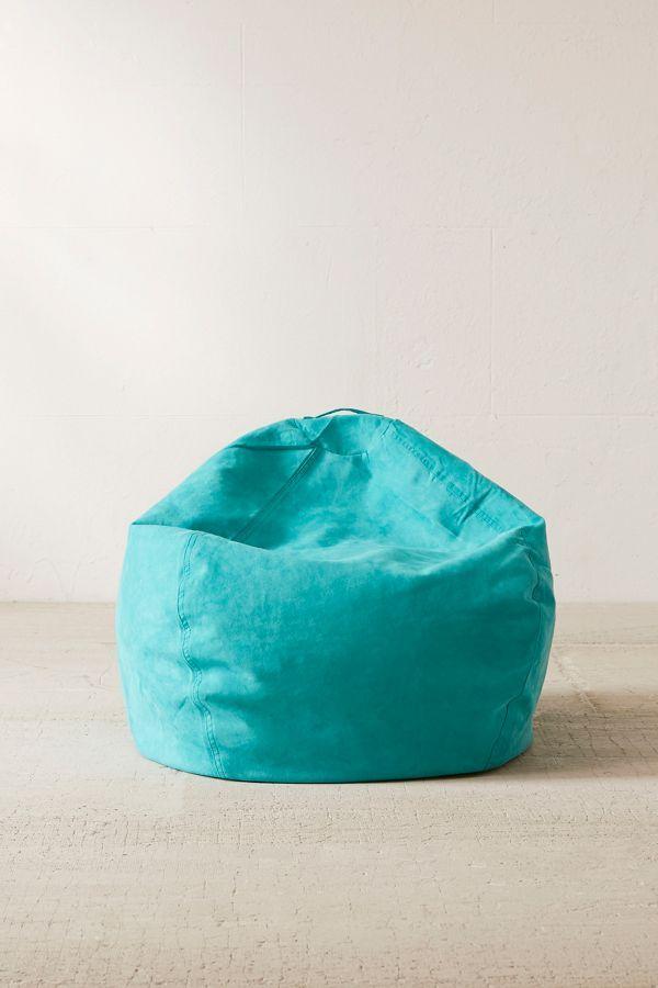 large microsuede bean bag chair sun sea bean bag chair brown rh pinterest com