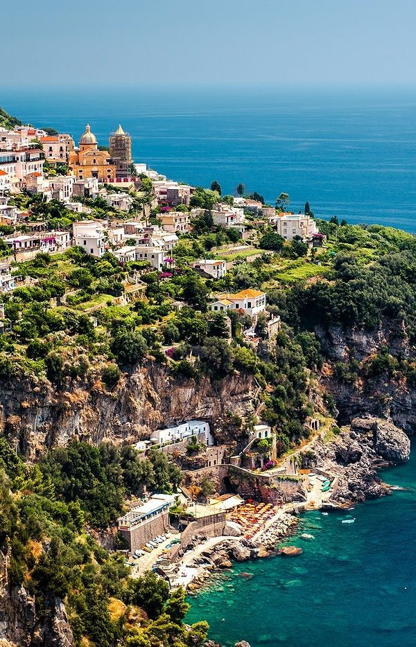 Praiano is one of the more laid-back, locally favored towns of the Amalfi Coast.