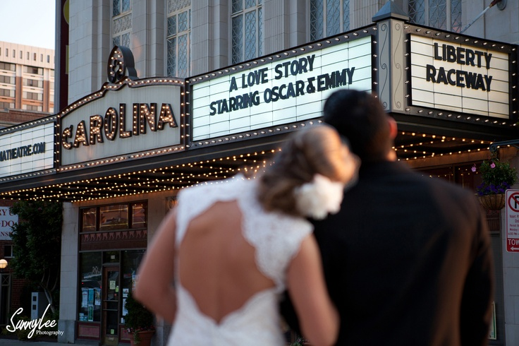 Wedding at the Greensboro Theatre: Wedding Engagement, Greensboro Theatre