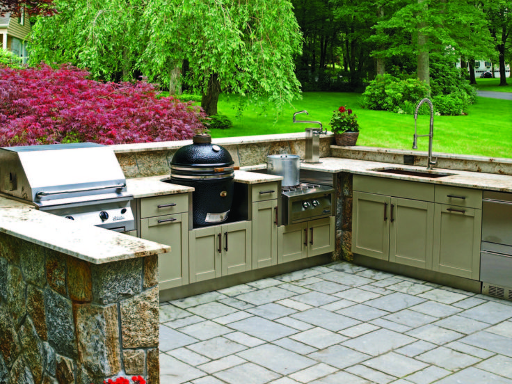 Outdoor Kitchen Decor 45 best grills, outdoor cabinets & kitchens images on pinterest