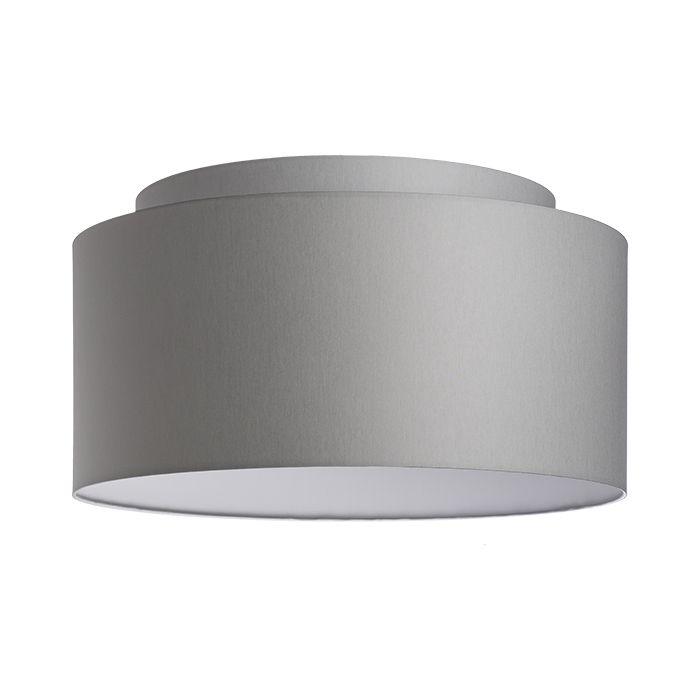Textilní stínidlo s úchytem E27. Vhodné pro instalaci na stropní základnu nebo závěsnou sadu. Ke stínidlu je možné objednat PMMA diffuser (R11868).
