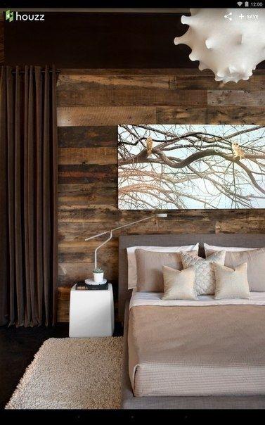 Отделка стен деревом и ламинатом - Дизайн интерьеров | Идеи вашего дома | Lodgers