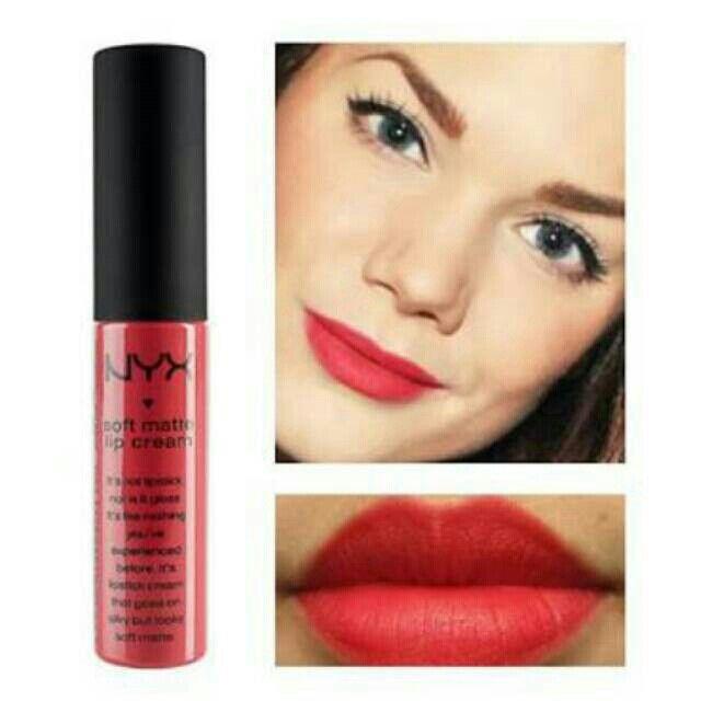 Saya menjual Lipcream Nyx ibza - SMLC 17 seharga Rp75.000. Ayo beli di Shopee! https://shopee.co.id/cosmetic_hq/33182499