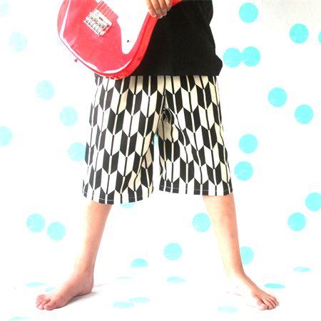 Boys Herringbone Shorts - Size 2, 6 | Mozzie & Mac | madeit.com.au