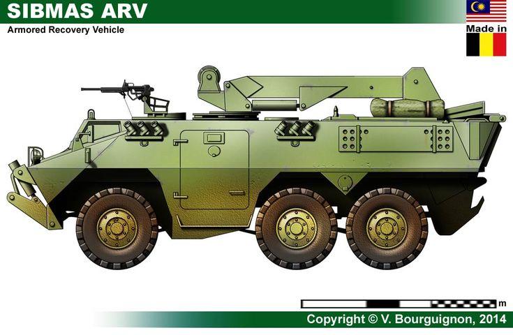 SIBMAS ARV Armored Recovery Vehicle