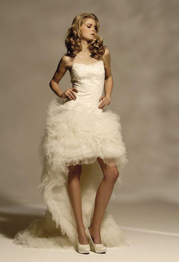 Robe mariee courte herve mariage