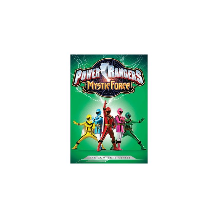 Power Rangers: Mystic Force - Complete Series (Dvd)