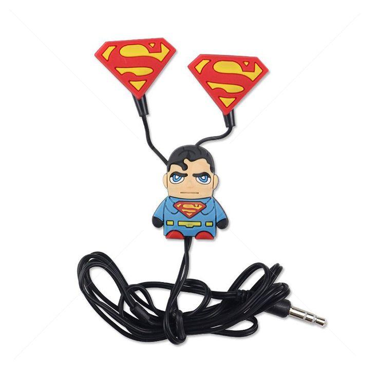 Fone de Ouvido Superman para Celular