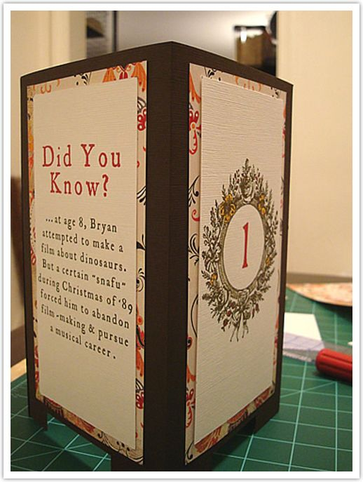 Wedding table number :::: The Inspired Bride™ :::: › 5 Fun DIY Ideas