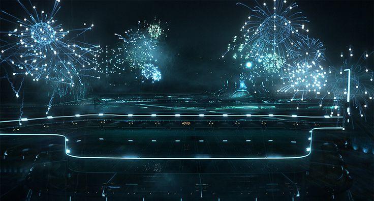 TRON Fireworks - .work   GMUNK