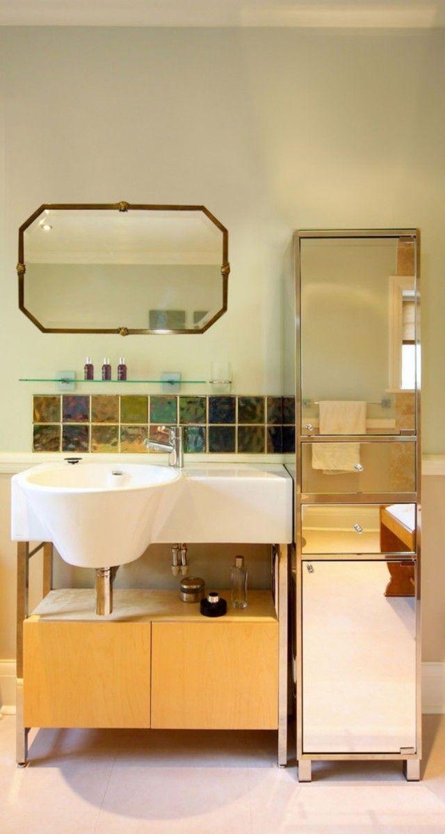 Nischen Im Badezimmer ? Bitmoon.info Wandgehangtes Waschbecken Beton Trendiges Design