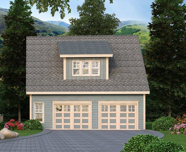 Best 25 detached garage plans ideas on pinterest garage for Detached carriage house