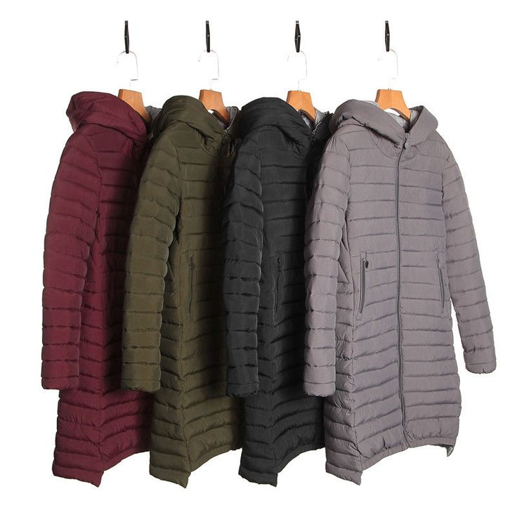 Fashion 2017 Winter Women Down Cotton Long Coat Hooded Down Jacket Ladies Parka