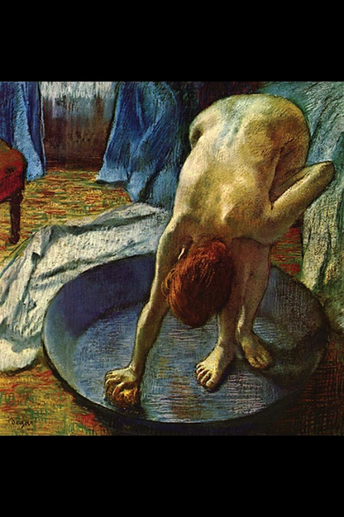 The Tub, by Edgar Degas                                                                                                                                                                                 More