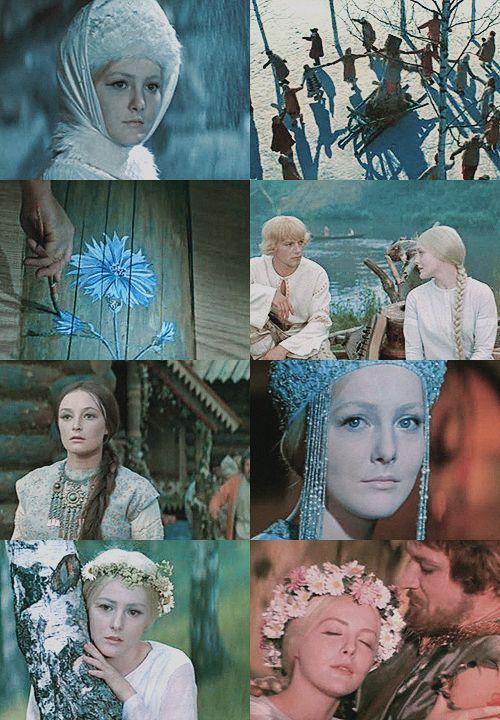 a list of favorite fairytale adaptations:Снегурочка (The Snow Maiden), Soviet Union, 1969