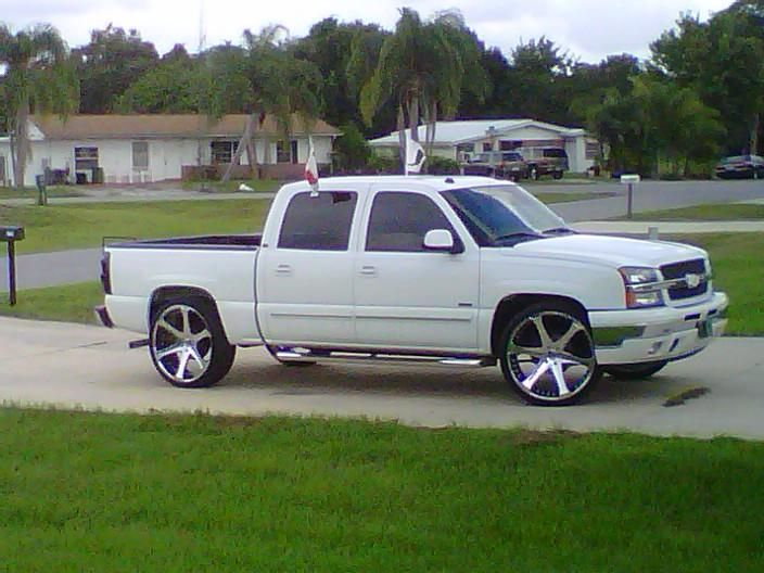 "06 chevy trucks | 2005 Chevrolet Silverado 1500 Crew Cab ""The ""U' Chevy"" - Okeechobee ..."