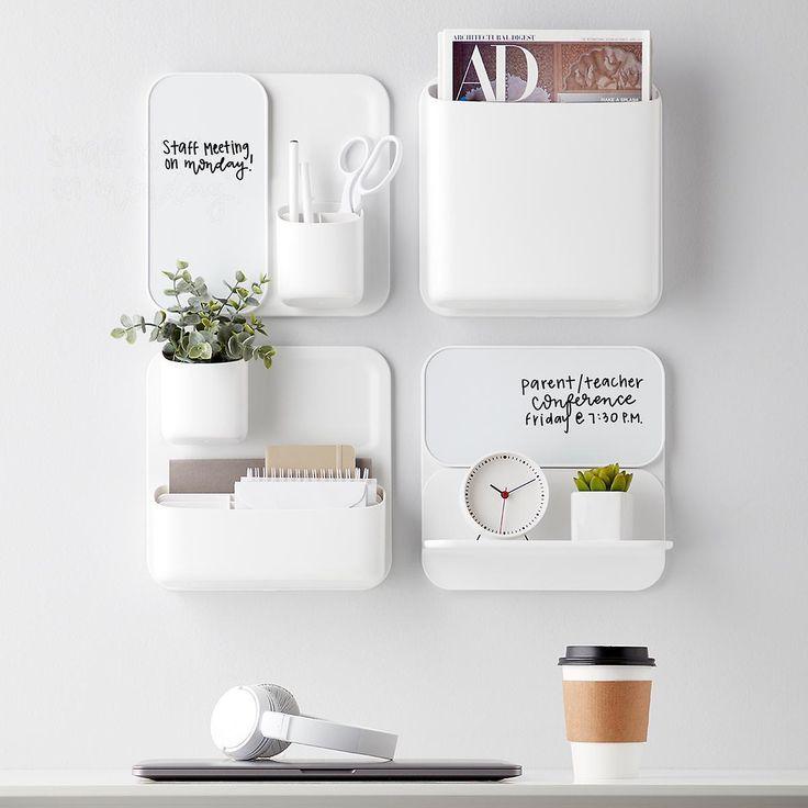 Wall Organization Goals Minimalist And