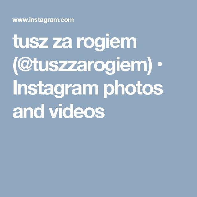 tusz za rogiem (@tuszzarogiem) • Instagram photos and videos