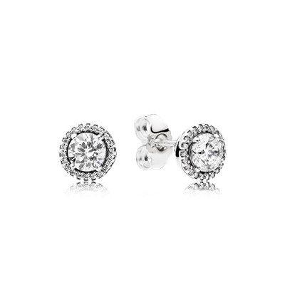 64c54416c005 Pendientes PANDORA Elegancia Clásica en plata de primera ley