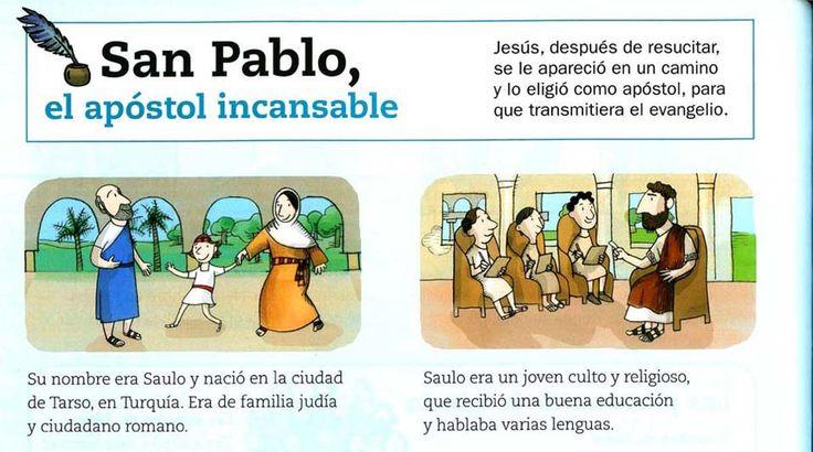 MATERIALES DE RELIGIÓN CATÓLICA: Historia de San Pablo, el apóstol incansable.                                                                                                                                                      Más