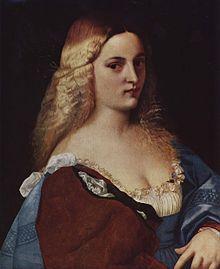 Violante- Palma Vecchio c. 1520