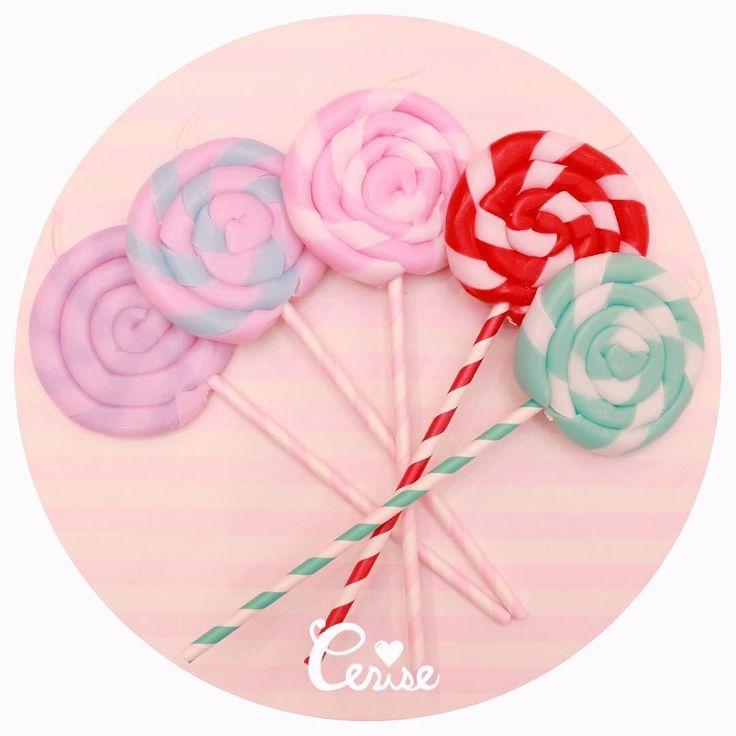 ロリポップキャンディーキャンドルに新色が仲間入りです お買い上げ時につけているギンガムリボンはお好きなカラーをお選びいただけます リボンのカラーでかなりイメージが変わるのでポップからキュートまで楽しんでいただけます . http://ift.tt/2lus81z . #cerisestore #cerise #lolipop #candles