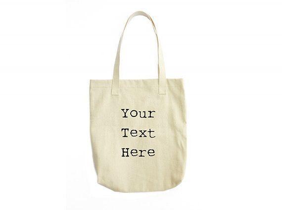 Custom Tote Bag Custom Bag Custom Gifts Tote by JoellesEmporium