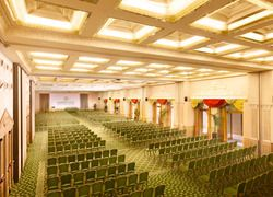 Plenary meeting room with natural daylight, it can host up to 900 delegates - Parco dei Principi Grand Hotel & Spa