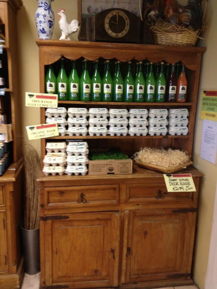 Local produced Apple juice Supplied by Ballycross Apple Farm!