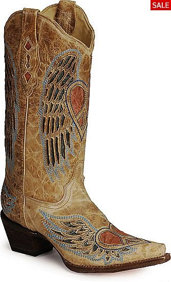 Corral Boots - A1976    Yes repinning again lol.....I love these boots so much.