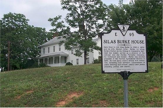 Silas Burke House, Burke, VA