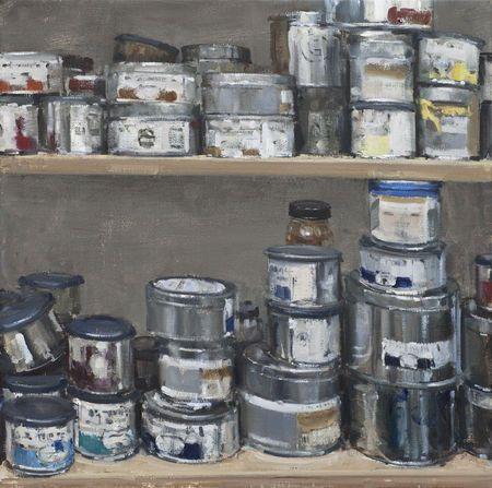 Farbdosen (Paint Cans) - Friedel Anderson