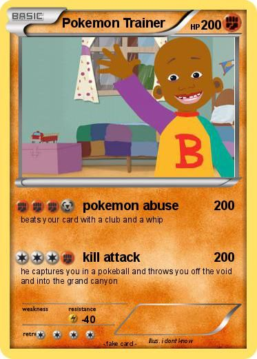 carte tortur ninja | Pokemon Trainer Card Maker Related Keywords & Suggestions - Pokemon ...