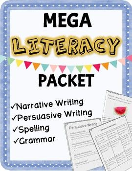 This is a mega literacy packet featuring units of work for Narrative Writing, Persuasive Writing, Spelling and Grammar. These units would be perfect those in Australia who are preparing their students for NAPLAN.  However, all these resources are suitable for any teacher requiring resources to teach narrative writing, persuasive writing, spelling and grammar.I have listed the contents of the packet for your own benefit: What is a Narrative?