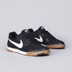 Nike SB Lunar Gato Black / White - Gum Medium Brown