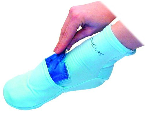 NatraCure Cold Therapy Socks were developed by a foot rehabilitation specialist to help relieve pain at the heel, ball and top of the foot. They are extremely effective after an injury or surgery, for