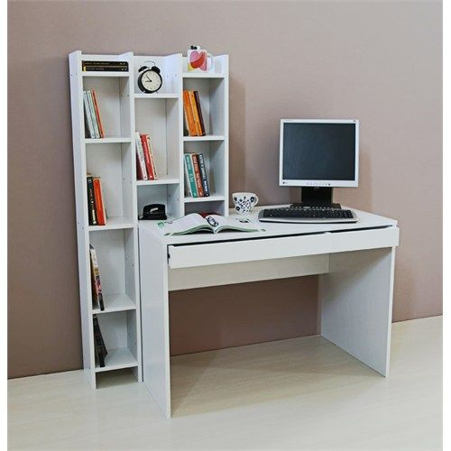 Çocuk Odası çalışma Masası Ve Ahşap Mobilyalar: Activa Kitaplıklı Çalışma Masası