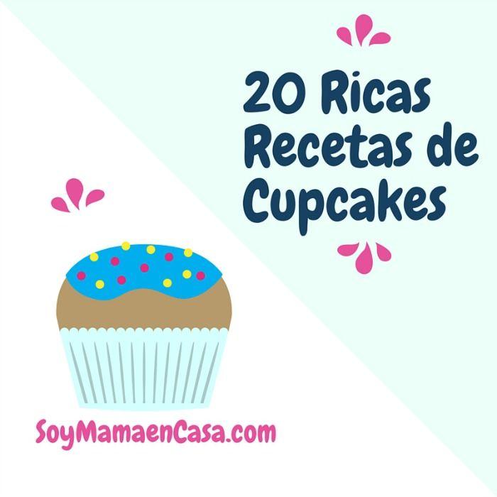Recetas de cupcakes deliciosos que puedes preparar fácilmente desde tu casa. Descubre y guarda la receta que seguramente será la favorita de tu familia.