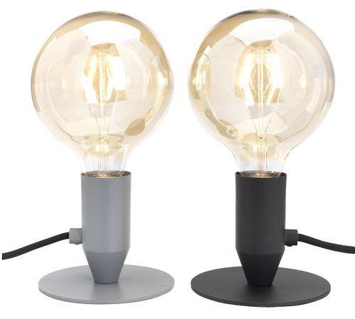 Stolová lampa CONRAD Ø13cm s LED rôzne | JYSK