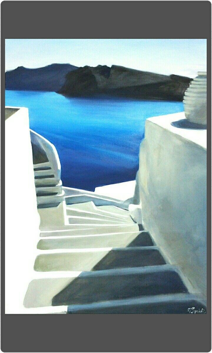 Oil on canvas, 50cm×70cm