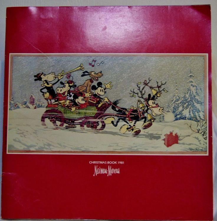 Vintage Neiman Marcus Christmas Catalog 1981 Book Hoiday Gift Fashion Cover Art
