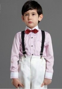 boy shirt long sleeve pink strips