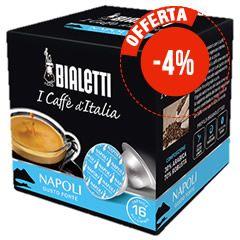 16 CAPSULE CAFFÈ BIALETTI I CAFFÈ D'ITALIA NAPOLI