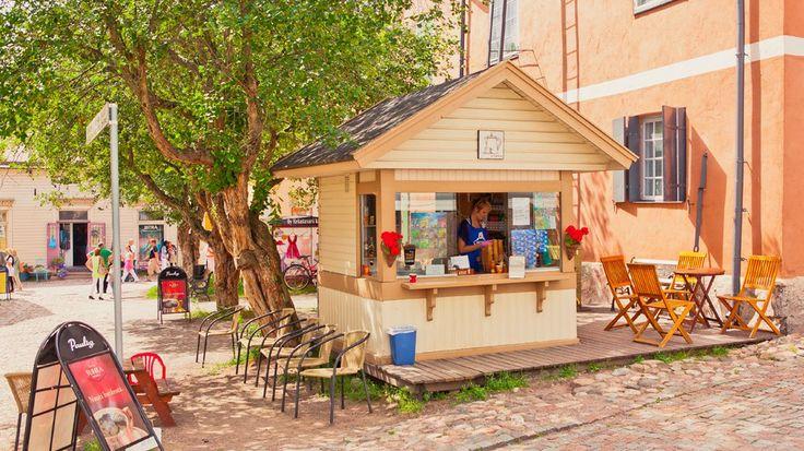 Ice cream kiosk, Porvoo www.visitporvoo.fi