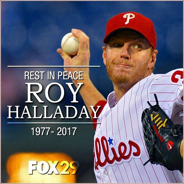 Lets share Doc memories. I was lucky enough to be at CBP to witness Roys no hitter. Your memories? #fox29philly #royhalladay #rip #phillies #baseball #mlb #pitcher