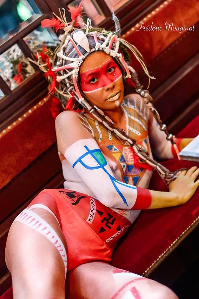 My work -°-  Création body-paint pour La Rencontre Bodypainting France 2014, le 25 mai a Epinal.