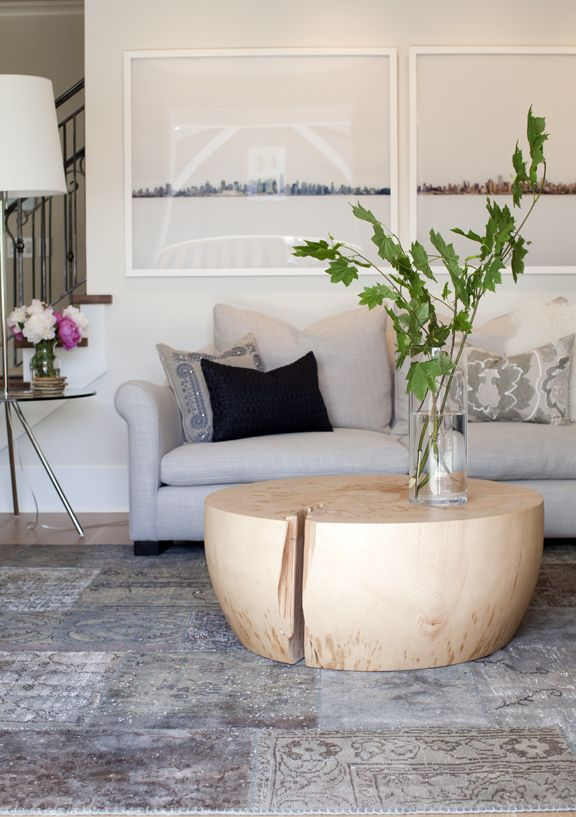 wood table +  soft pale palette by Angela Robinson