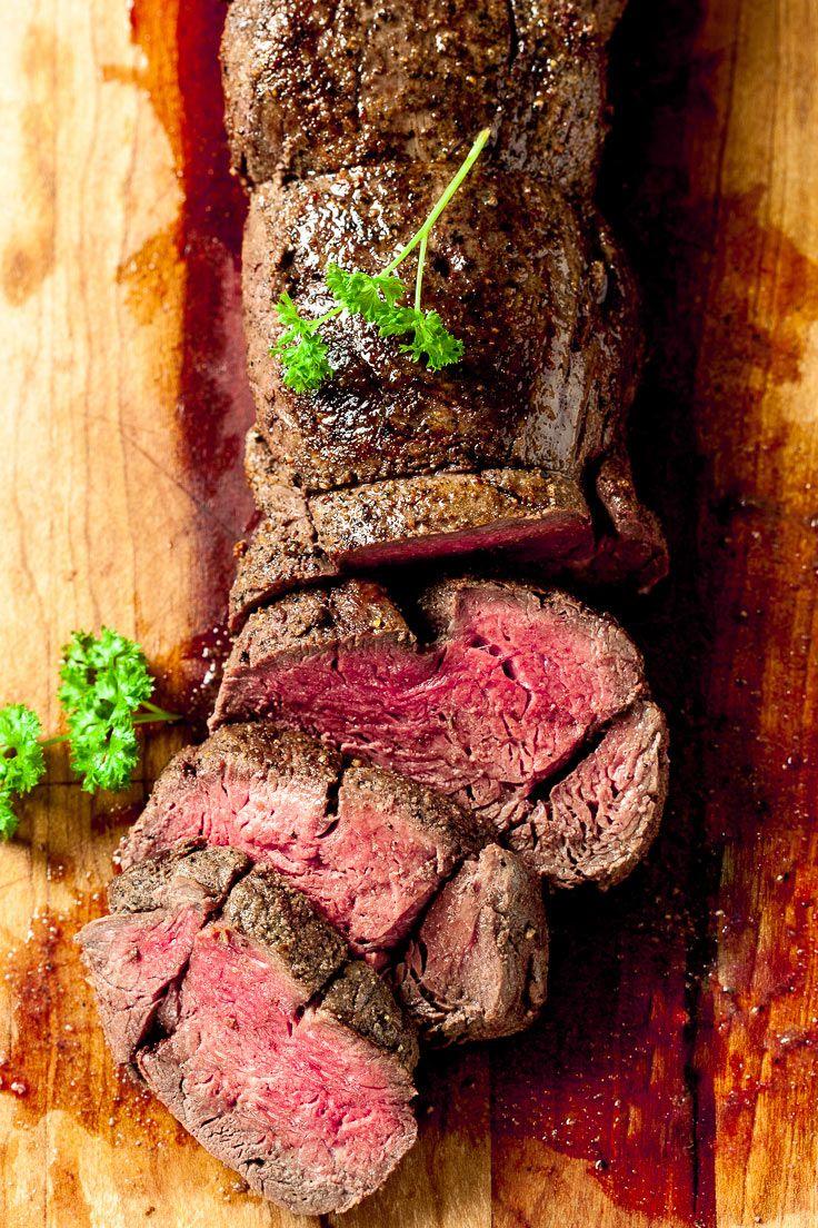 Beef Tenderloin Roast With Garlic Wine Sauce Beef Tenderloin Wine Beefroast Dinner Dinnerr Beef Tenderloin Roast Tenderloin Roast Beef Tenderloin Recipes