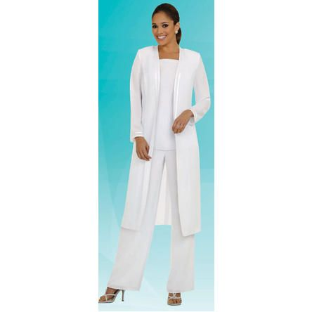 Misty Lane Womens 3pc Pant/Jacket Set Evening Wear, Mother of the Bride, Party Dress, Wedding Guest, Plus Size  Church Suit Sizes 6-34 3