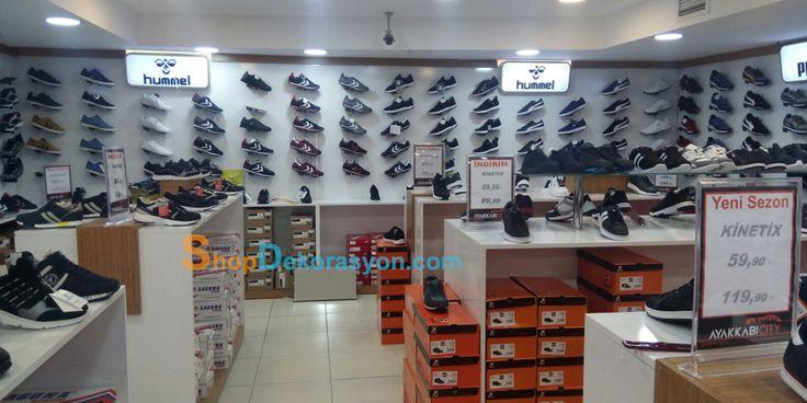 ayakkabı mağazası ayakkabı rafı